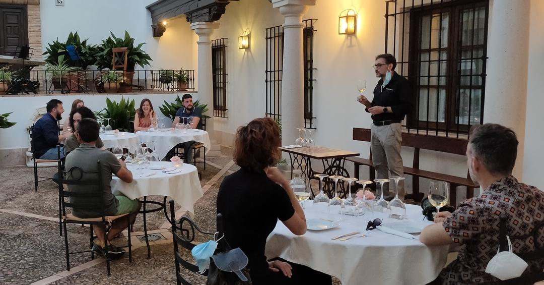 Cena maridaje Jornadas Gastronómicas Vive Almagro