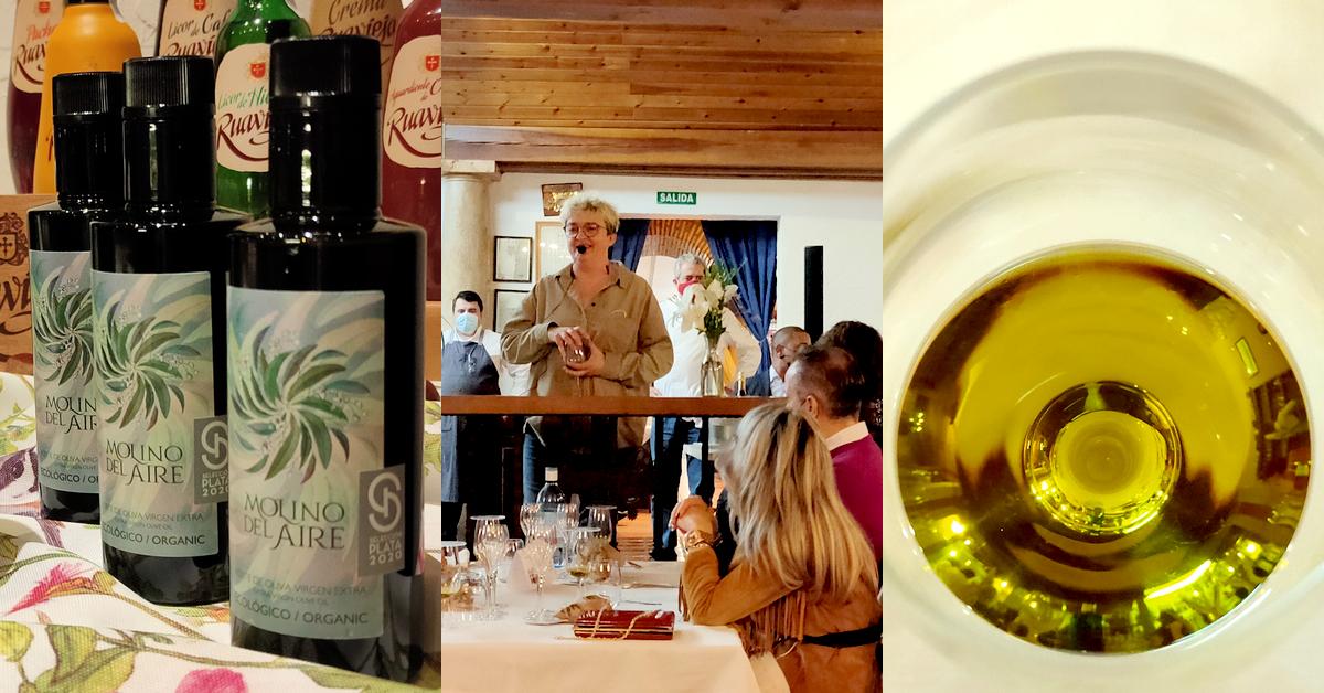 Presentación aceite de oliva virgen extra Molino del Aire