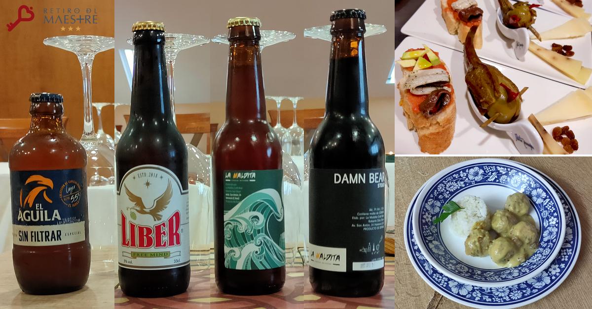 Cata Cervezas albondigas