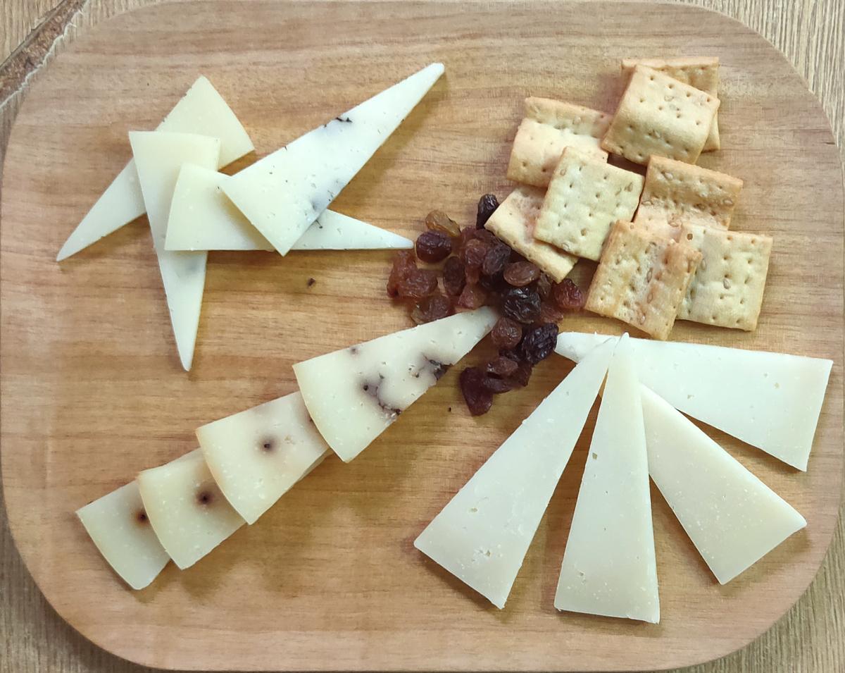 Tabla de quesos especiales